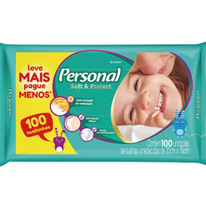 Lenço Umedecido Personal Baby c-100