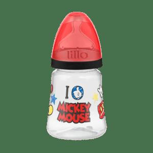 Mamadeira Lillo Disney Ortodôntica Silicone Mickey 180 ml