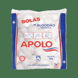 Algodão Bolas Apolo 100g
