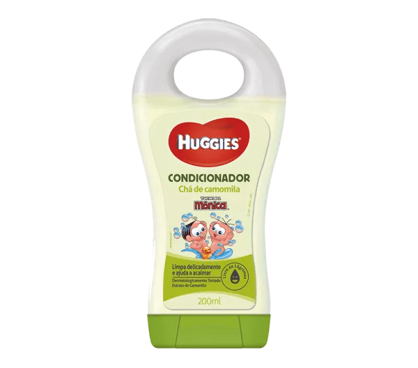 Condicionador Turma da Mônica Huggies Camomila