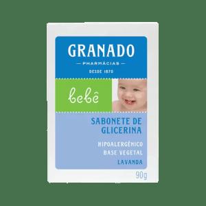 Sabonete Barra Granado Bebê Glicerina Lavanda