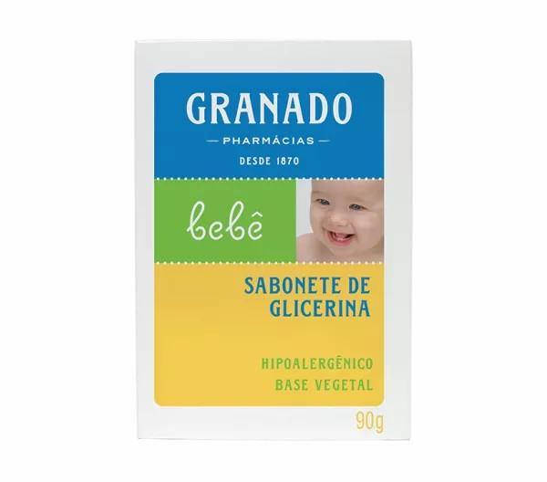 Sabonete Barra Granado Bebê Glicerina Tradicional