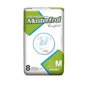 Kit com 2 Pacotes de Fraldas Masterfral Confort - Tamanho M - jmc - incavoluntario