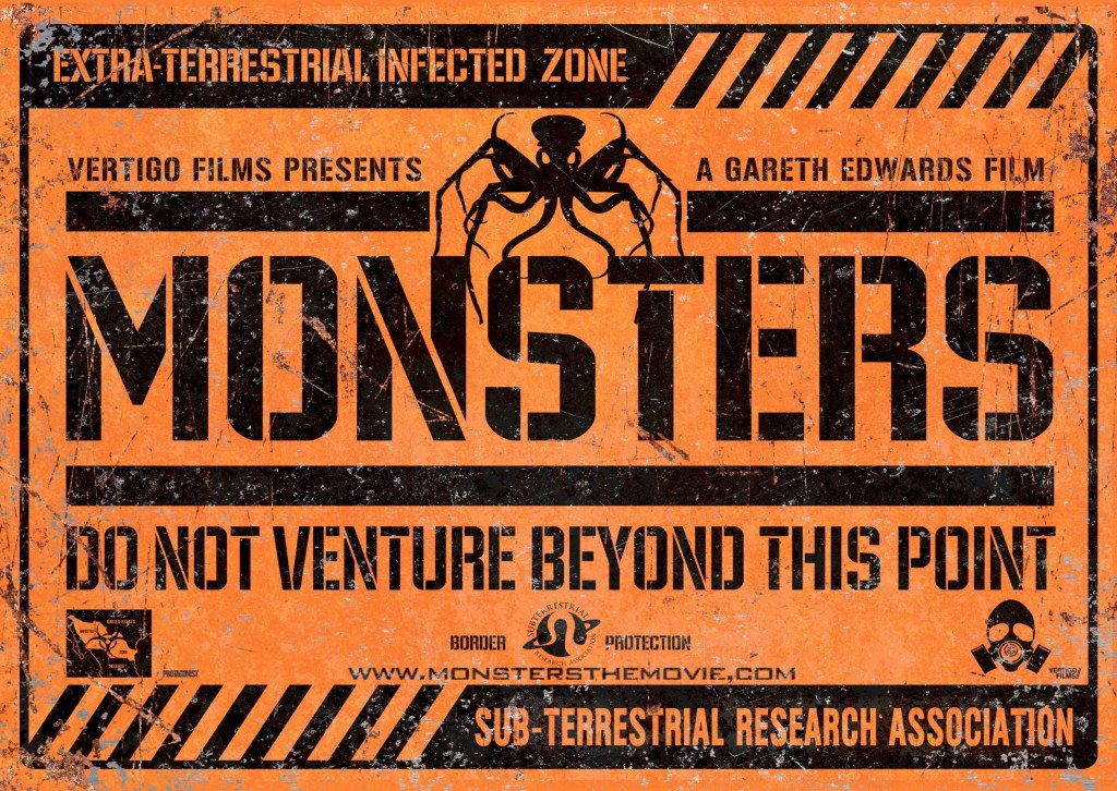 Monsters, un film de Gareth Edwards