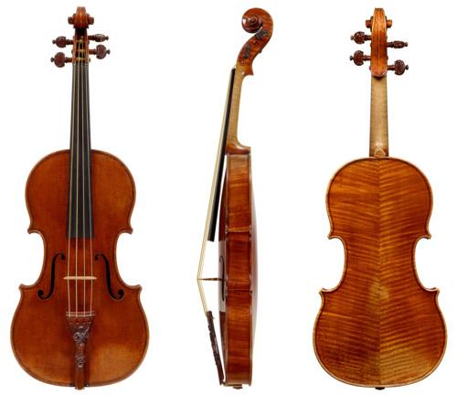 Le Stradivarius battu par les violons modernes