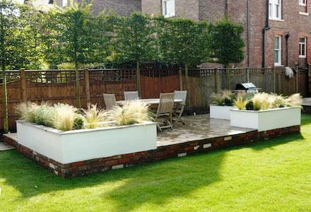 Large garden designs - JM Garden Design London on Back Garden Seating Area Ideas id=78942