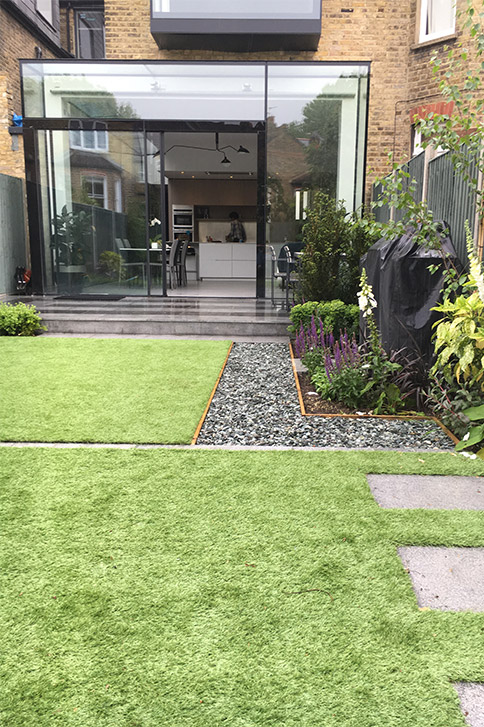 small garden design London - JM Garden Design on Back Garden Ideas id=64779