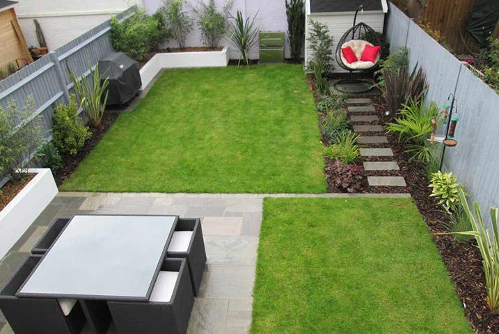 small garden designs - JM Garden Design on Modern Back Garden Ideas id=48505