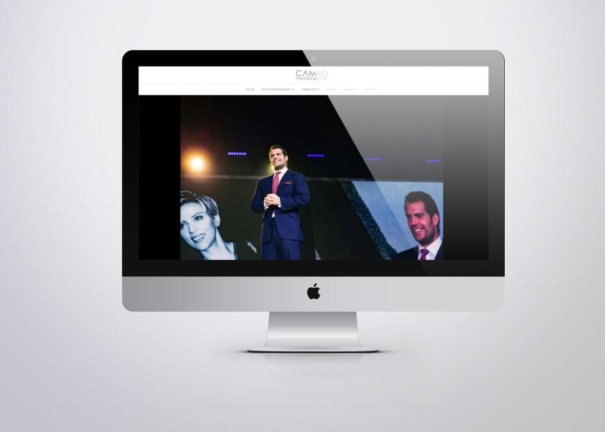 cameo website wordpress web designer london