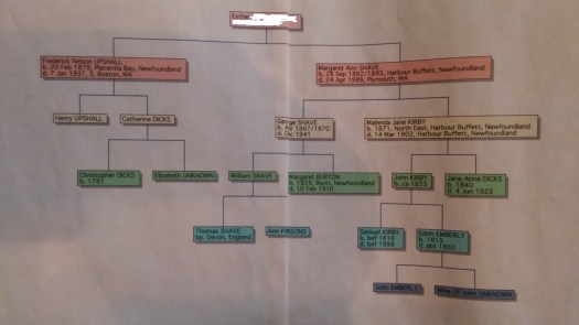 Aunt Esther's Family Tree Privacy
