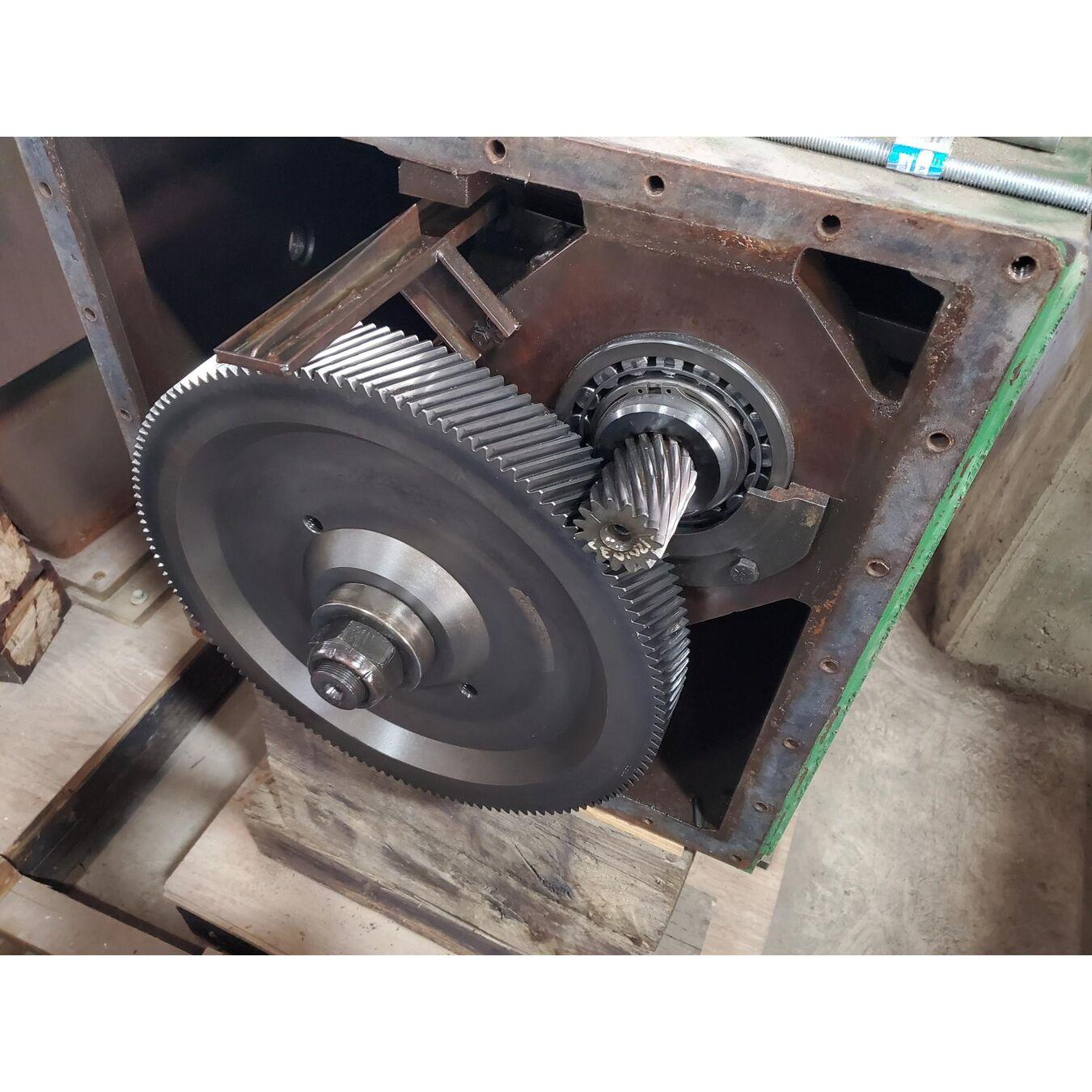 Used 75 Hp Lightnin Mixer Agitator Drive Model Lat 150 For