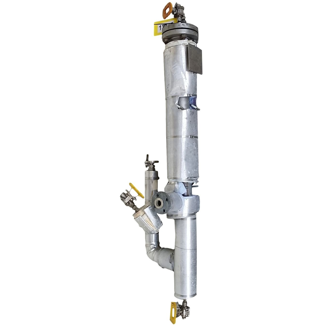 Used Pall Filtration Stainless Steel Cartridge Pressure