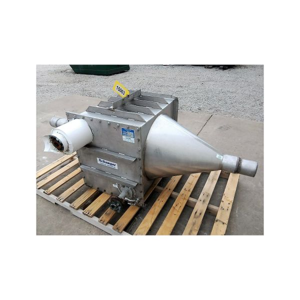 Used Stainless Steel Xchanger Air Heat Exchanger C-175 ...