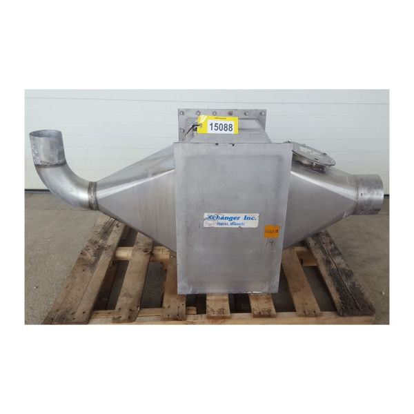 Used Xchanger Stainless Steel Air Cooler Heat Exchanger C ...