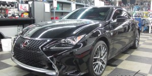 2015 Lexus RC350 F Sport Audio