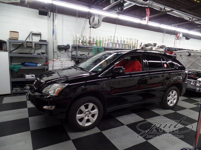 RX330 Navigation, Tint and Detailing for Clayton Client