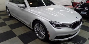 BMW 750i Radar