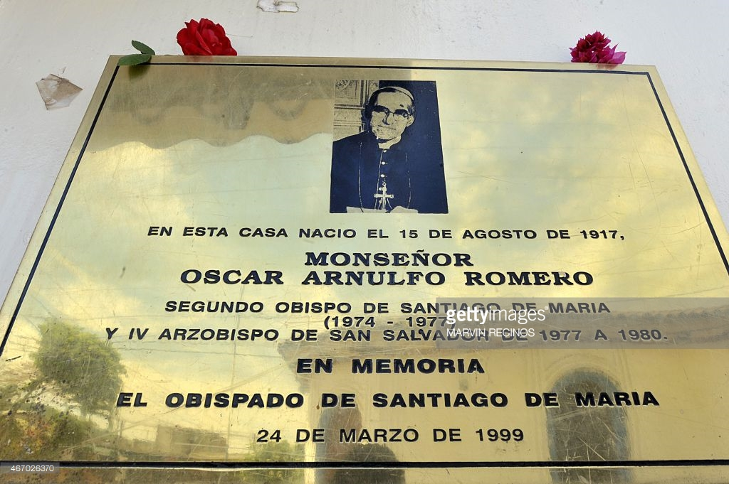 Oscar Romero tombstone