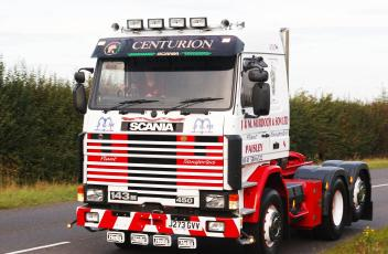 SCANIA 143 SWEDEFEST SEP17