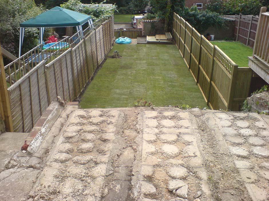 A Split-Level Garden - jmorrisgardenservices on Split Garden Ideas id=43213