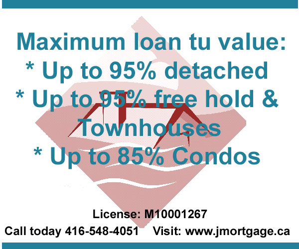 Second Mortgage High Ratio Loan to value