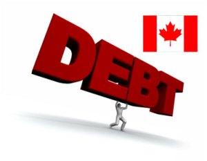 High Canadian debt