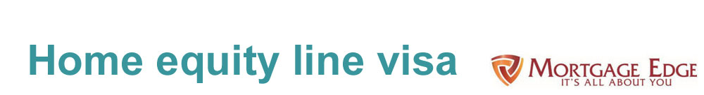Home Equity Line Visa