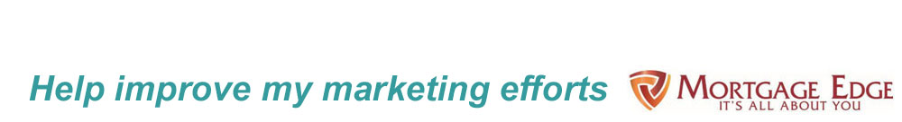 Help Improve My Marketing Efforts