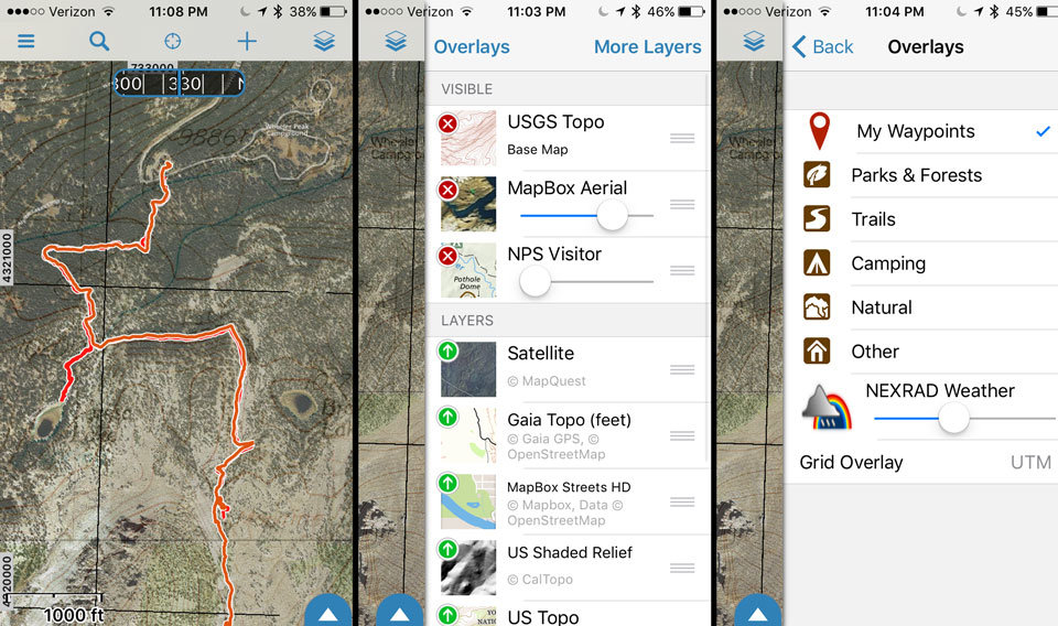My New Favorite Phone GPS Backpacking & Hiking App