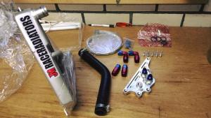 Ducati Panigale met onderdelen