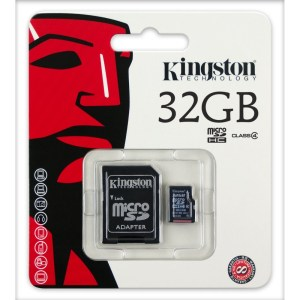 Kingston 32GB SDHC