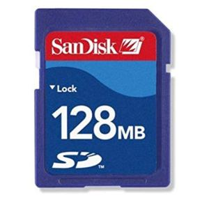 SanDisk Secure Digital Card 128 MB