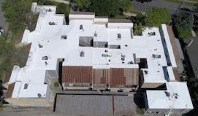 commercial roof after JNC Roofing replaced it- reference