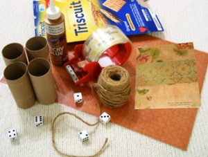 Yahtzee Supplies | How to make a Yahtzee game from toilet paper tubes