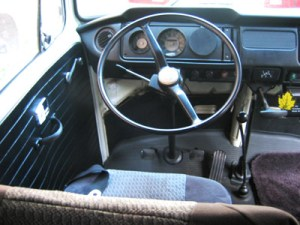 1969 VW Bus Bridger Steering Wheel | Inspiration for restoring and living in a VW bus.