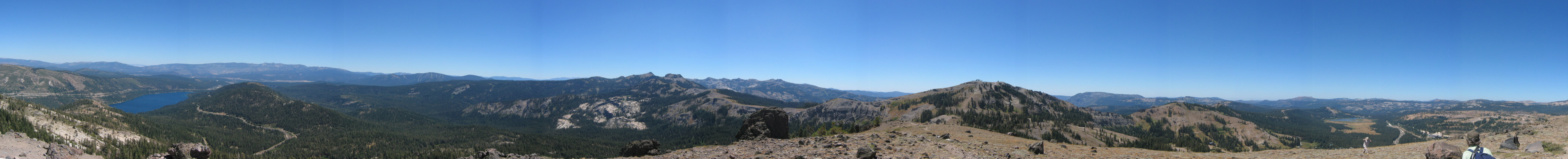 Panorama of Mt. Judah | Creating a couple's bucket list to create the relationship you want.