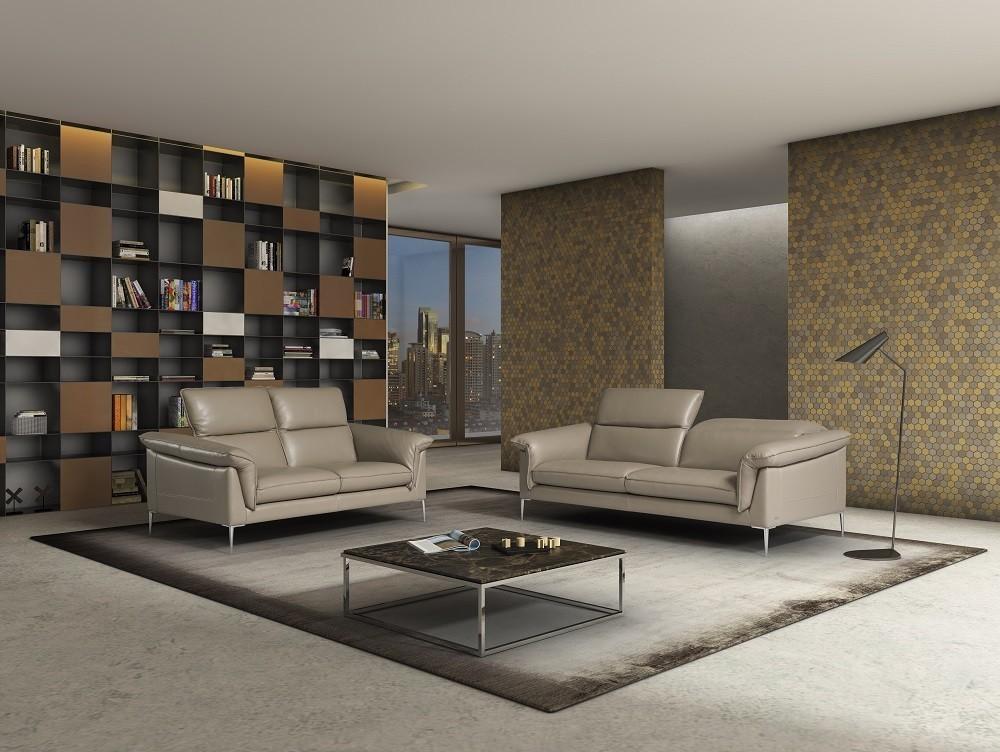 j m furniture modern furniture wholesale ital mod eden sofa set in taupe