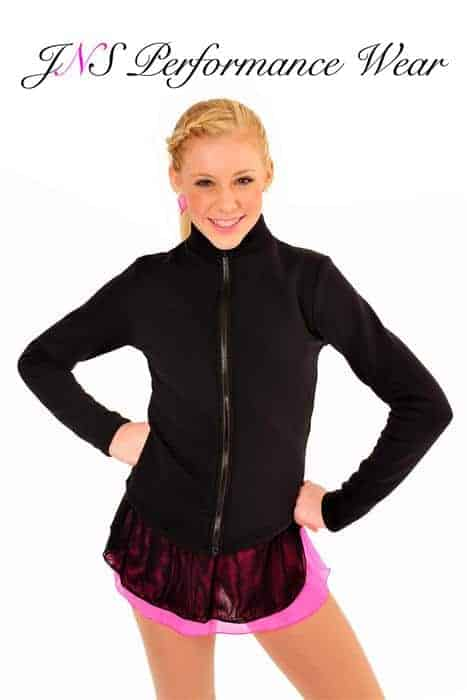Curved Hem Fleece Jacket