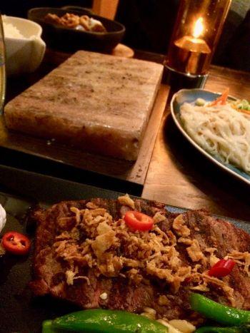 Steak and Salt Block