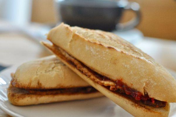 Staff bacon sandwich - Bears Pantry