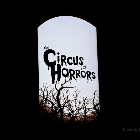 Circus of Horrors, Empire Theatre, Liverpool, Circus