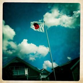 Japanese flag, Fiskebäckskil 2010