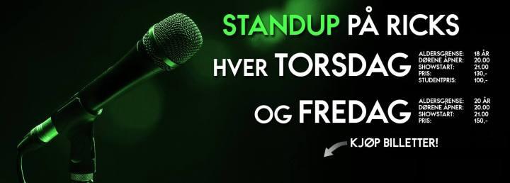 Stand Up Bergen, Ricks