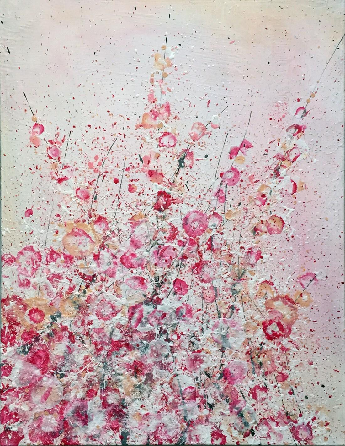 Acrylic on canvas 60 x 80 cm / 23 x 31″ © Joacim Broström, 2016
