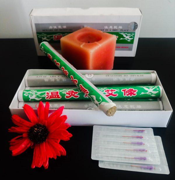 Moxabustão, Técnica da Medicina Tradicional Chinesa