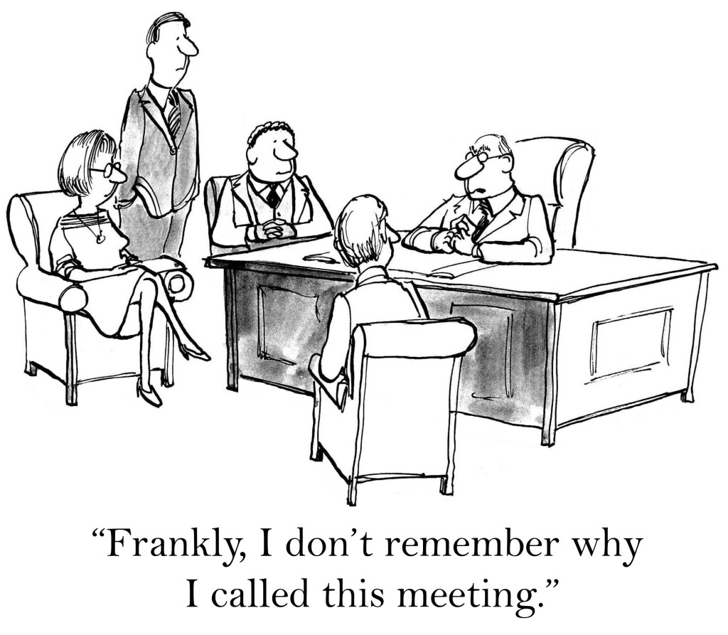 Project Team Meeting Cartoon