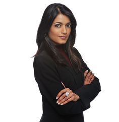 A photo of a corporate women