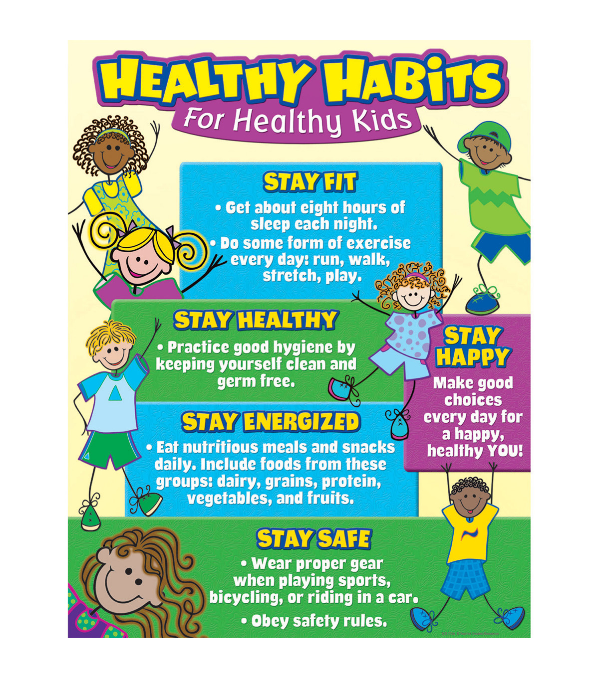 Teacher Created Resources Healthy Habits For Healthy Kids