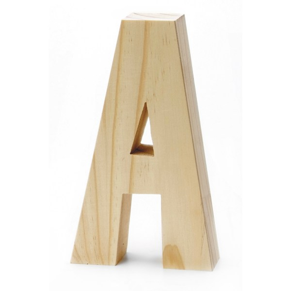 Chunky Wood Letter 8 X 5 In   JOANN Chunky Wood Letter 8 X 5 In