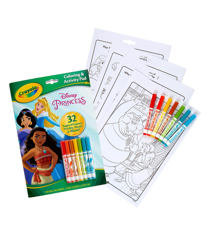 Crayola Coloring Activity Set Disney Princess Joann